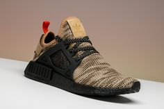 This brown NMD was released in a trio of Europe-exclusive colorways early Casual Sneakers, Sneakers Fashion, Shoes Sneakers, Unique Shoes, Cute Shoes, Hypebeast Sneakers, Adidas Shoes, Adidas Nmd, Everyday Shoes