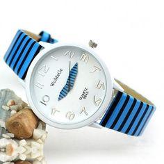 Zebra Strap Wrist Watch For Women Sports Wristwatch Quartz Watch