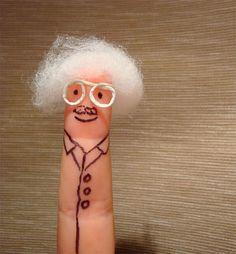 Finger Art, Einstein