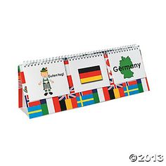 6 Pc Multicultural Flip Chart Set Discontinued
