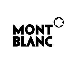 モンブランのロゴ:力強い書き味   ロゴストック