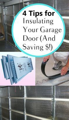 4 Tips For Insulating Your Garage Door And Saving