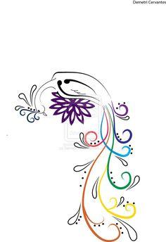 Peacock Tattoo Design by ~DemetriV2 on deviantART