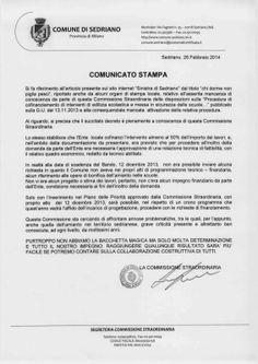 Sinistra di Sedriano: Amianto scuole : la commissione straordinaria ci r...