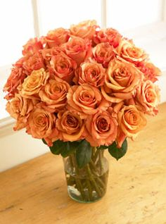 ✿ ❀   Orange Bliss Roses