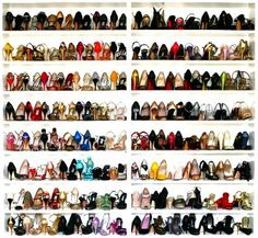 Tango shoe collection?? :O shoes for milongas around the world:-)