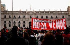 Marcha Nacional de Estudiantes, Santiago 30 de junio 2011 Plaza Italia - Los Heroes Chile EduGlobal