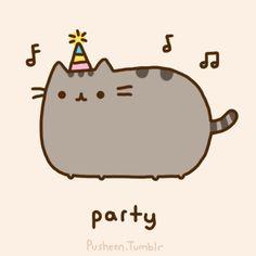 Pusheen Party!