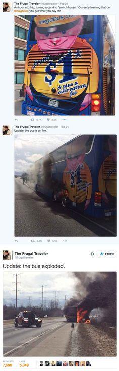 The Megabus incident: