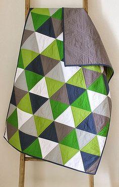 Isosceles quilts. | Craftyblossom | Bloglovin'