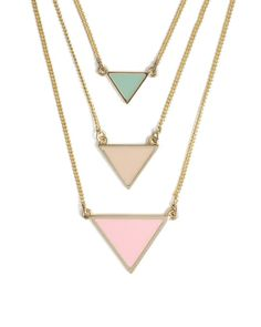 Pastel Points Necklace