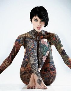 Top 50 Full Body Tattoo Designs for Men and Women Tattoos Body tattoo design, Tattoos, Body Here we have good picture about body tattoo f. Tatoo Art, Et Tattoo, Sick Tattoo, Faded Tattoo, Insane Tattoos, Sexy Tattoos, Body Art Tattoos, Woman Tattoos, Awesome Tattoos