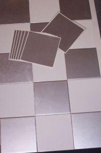 METALLIC SILVER -Tile transfers - (10 per pack)   eBay