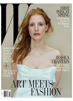 JESSICA CHASTAIN W MAGAZINE JANUARY 2013 COVER 1 Jessica Chastian Covers W ...  becauseiamfabulous.com
