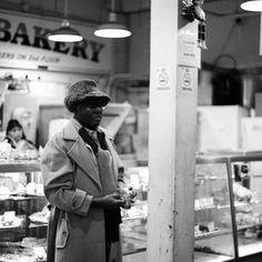Last minute shopper, Pike's Market, Seattle, WA