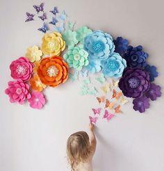 "Paper Flowers (@papermintdecor) Instagram-hozzászólása: ""Радужные сеты идеально подходят для детских праздников!❤️ ⬇️⬇️⬇️English⬇️⬇️⬇️ Rainbow sets are…"""