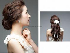 korean wedding updo - Google Search