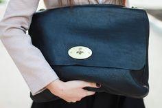 Mulberry midnight blue. Cause who needs another black handbag?