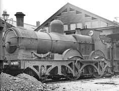 GWR 2-4-0 by Dean at Swindon