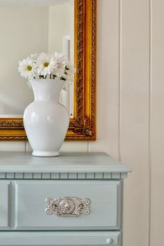 10 Paint Secrets (PART THREE!): what you never knew about paint (like how to paint glass vases to look like ceramic). This is GREAT!