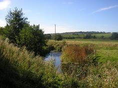 The River Churnet, Leek, Staffs