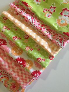 SALE Scrumptious quilt fabric by Bonnie and Camille for Moda  Fabric- Fat Quarter Bundle- 7 total on Etsy, $19.25