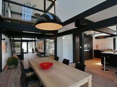 Open plan Huf Haus interior
