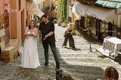 Amazing intimate wedding in Bellagio Italian Wedding Themes, Lake Como Wedding, Empire, Italy, Wedding Dresses, Amazing, Fashion, Bride Dresses, Moda