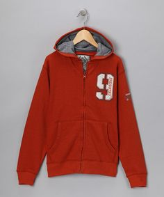 Take a look at this Pumpkin Zip-Up Hoodie - Boys by All-Star: Sporty Separates on #zulily today! #fall