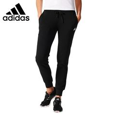 (58.35$)  Watch now - http://ai82p.worlditems.win/all/product.php?id=32793234409 - Original New Arrival 2017 Adidas ESS SOLID PANT Women's Pants Sportswear