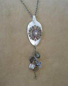 Spoon Necklace  Steampunk Style Necklace Made by thefashionedge, $24.00