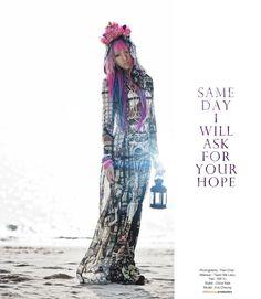 eva-pinkland:     Photography: Paul ChanMakeup: Taylor Ma LaiyuHair: Will YuStylist: Chloe MakModel: Eva Cheung