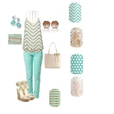 Looking for ideas to wear with my new mint jeans.I love this top - it would look great with my mint jeans Style Work, Mode Style, Look Fashion, Fashion Outfits, Womens Fashion, Fashion Trends, Fashion Inspiration, Fashion Clothes, Street Fashion