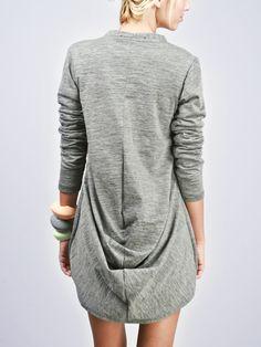 Cool drape at the back.