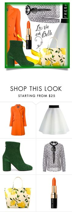 """Today's Editorial!"" by styleanatomy ❤ liked on Polyvore featuring Boutique Moschino, Chicwish, Maison Margiela, Kate Spade and Bobbi Brown Cosmetics"
