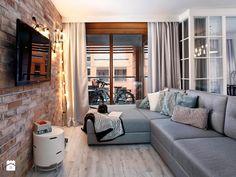 Przy gdańskiej Motławie - Mały salon, styl skandynawski - zdjęcie od Flow Franiak&Caturowa