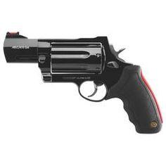 Taurus Raging Judge Model 513 Revolver Long Colt and Bore Barrel Magnum Chamber 7 Rounds Black Rubber Grip Blued Finish Bushcraft, 410 Shotgun, Hand Cannon, Fire Powers, Home Defense, Cool Guns, Guns And Ammo, Firearms, Shotguns