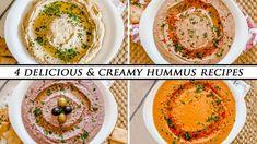 Make Hummus, Homemade Hummus, Soup Recipes, Vegetarian Recipes, Cooking Recipes, Creamy Hummus Recipe, Red Pepper Hummus, Recipe Using, A Food