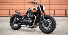 Got a new Triumph Bonneville, but fancy a classic bobber vibe? Take inspiration from this converted T120 Black by France's BAAK Motocyclettes.
