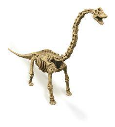 Replicas of dinosaurs