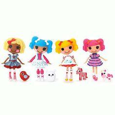 Mini Lalaloopsy Puppen 4er Pack -