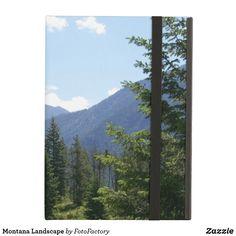 Montana Inspiring Landscape Cover For iPad Air
