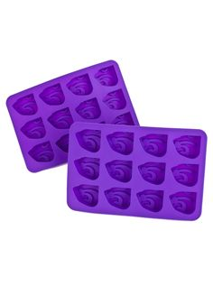 Toss a fun Wildcats surprise into any drink with this K-State Wildcats Purple Ice Cube Tray. Rally House has a great selection of new and exclusive K-State Wildcats t-shirts, hats, gifts and apparel, in-store and online. Kansas State University, Kansas State Wildcats, Ice Cube Trays, Ice Tray, All Colleges, School Spirit, Helpful Hints, College Football, Purple