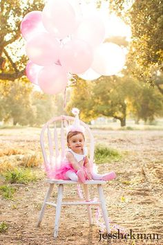 one year old photo ideas on chair - Google Search