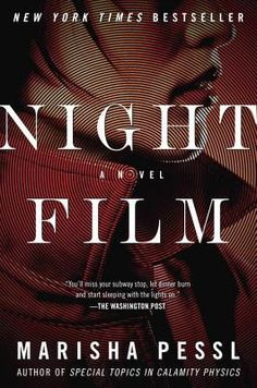 A page-turning thriller for readers of Stephen King, Gillian Flynn, and Stieg Larsson, Night Film tells the haunting story of a journalis. Night Film, Good Books, Books To Read, Haunting Stories, Stieg Larsson, 12th Book, Page Turner, Film Books, Film Director