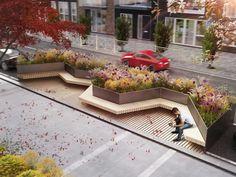 Парклеты для города | Megapolis Landscape Elements, Landscape Concept, Landscape Architecture Design, Urban Architecture, Landscape Plans, City Landscape, Landscape Lighting, Urban Landscape, Urban Furniture