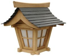 About the design of Japanese garden lantern's traditional styled wooden lanterns Japanese Lighting, Japanese Lamps, Wooden Lanterns, Wooden Lamp, Japanese Garden Lanterns, Asian Lamps, Japanese Tea House, Roof Lantern, Lantern Diy
