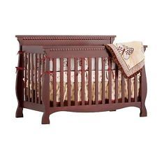 Storkcraft Baby Venetian 4 in 1 Fixed Side Convertible Crib - 04587-134 - New!