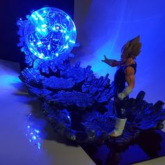 Hot Sale Dragon Ball Z Golden Shenron Crystal Ball Diy Led Set Dragon Ball Super Son Goku Dbz Led Lamp Night Lights Xmas Gift Orders Are Welcome. Led Night Lights