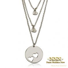 Personalize Your Mother Daughter Necklace. Free Shipping Worldwide. Order Now!
